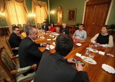 VIA IURIS na rokovaní s prezidentom k enviro-témam
