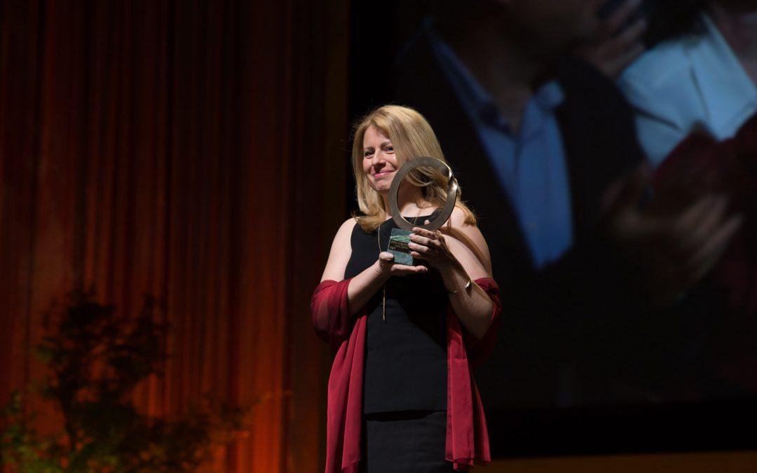 Zuzana Čaputová si prevzala Goldmanovu cenu