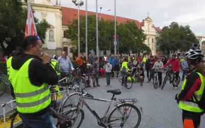 Bratislavská cyklojazda upozornila na problematiku znečisteného ovzdušia