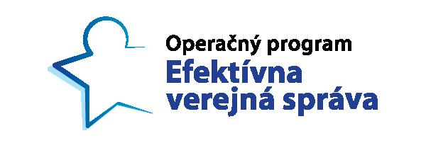Operačný program Efektívna verejná správa logo
