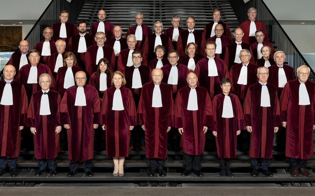 Súdna rada zvolila kandidátov na sudcov európskych súdov