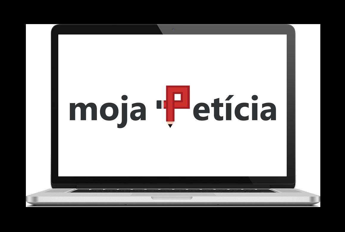 MojaPeticia.sk mockup