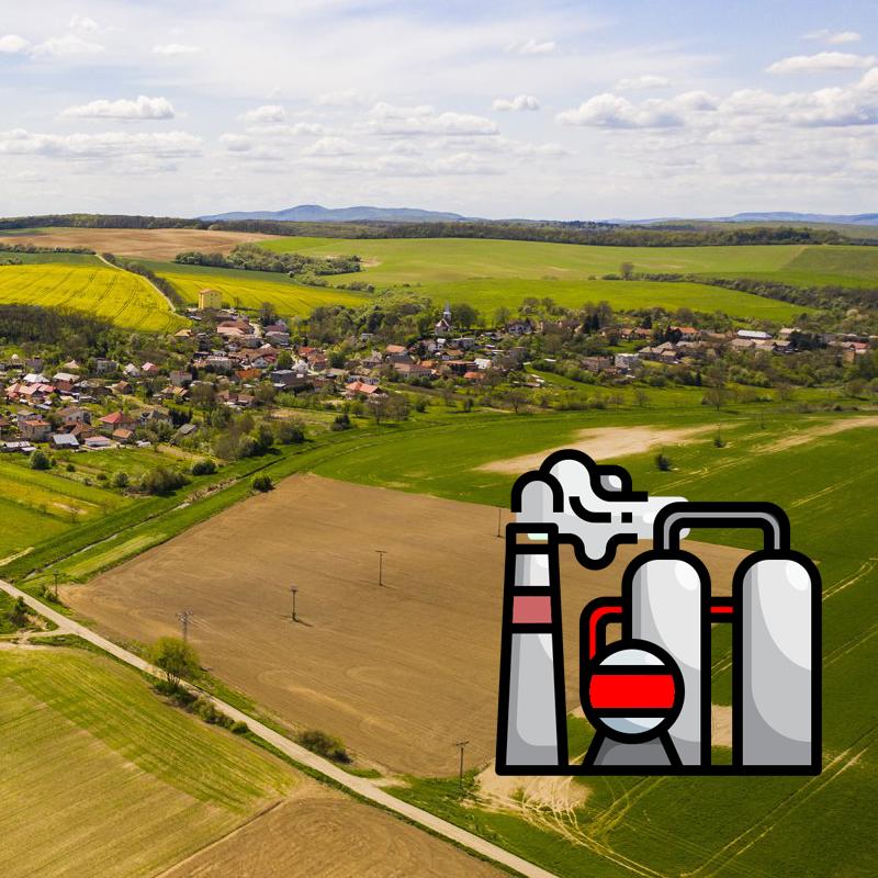 Obec Janík - splyňovňa odpadu/spaľovňa odpadu